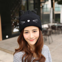 Winter Cat Ear Beanie - Nvr2Lte2Shop.com