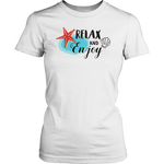 Relax and Enjoy Womens T-Shirt - Nvr2Lte2Shop.com