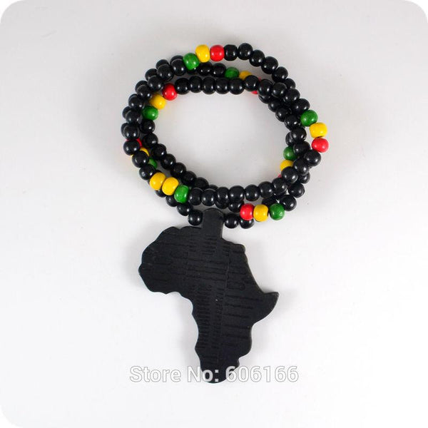 Infinite Africa Wooden Beads Necklace - Nvr2Lte2Shop.com