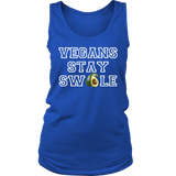 Vegans Stay Swole 2 Womens Tank Top - Nvr2Lte2Shop.com