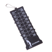 NEW 18 Hole Golf Score Counter with Key Chain PROMO - Nvr2Lte2Shop.com