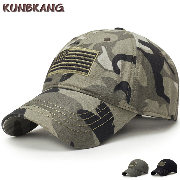 New USA Flag Tactical Camouflage Baseball Cap - Nvr2Lte2Shop.com