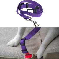Color Dog Car Safety Seat Belt Leash Restraint - Nvr2Lte2Shop.com