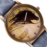 Newly Design Painting Horse Quartz Watch - Nvr2Lte2Shop.com