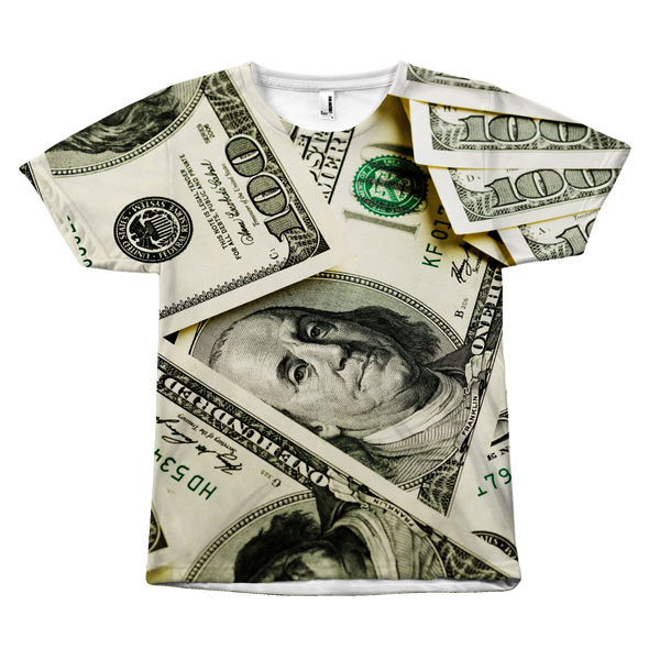 Money All Over Print T-Shirt - Nvr2Lte2Shop.com