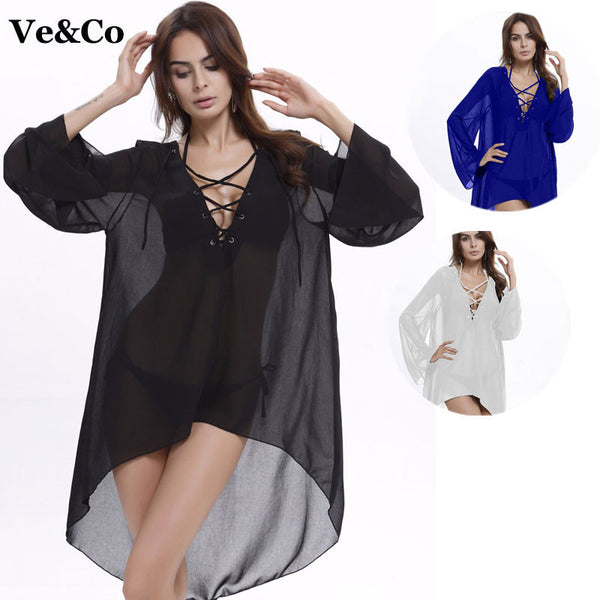 2018 Sexy Women Pareo Beach Cover Up 3 Colors - Nvr2Lte2Shop.com