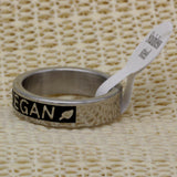 Vegan Stainless Steel Ring - Nvr2Lte2Shop.com