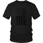 Vertical Flag Unisex T-Shirt - Nvr2Lte2Shop.com