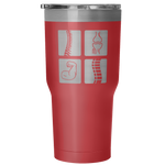 Chiropractic Elements 30 Ounce Vacuum Tumbler - Nvr2Lte2Shop.com