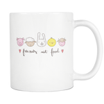 Friends Not Food 11oz Mug - Nvr2Lte2Shop.com