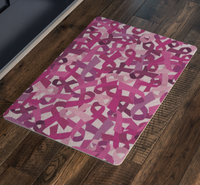 Breast Cancer Awareness Doormat - Nvr2Lte2Shop.com