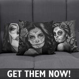 Calavera Allure Pillow Covers - Nvr2Lte2Shop.com
