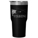 Fishing 30 Ounce Vacuum Tumbler - Nvr2Lte2Shop.com