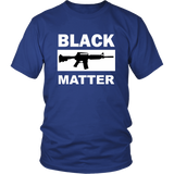 Black Guns Matter Unisex Colored T-Shirt - Nvr2Lte2Shop.com