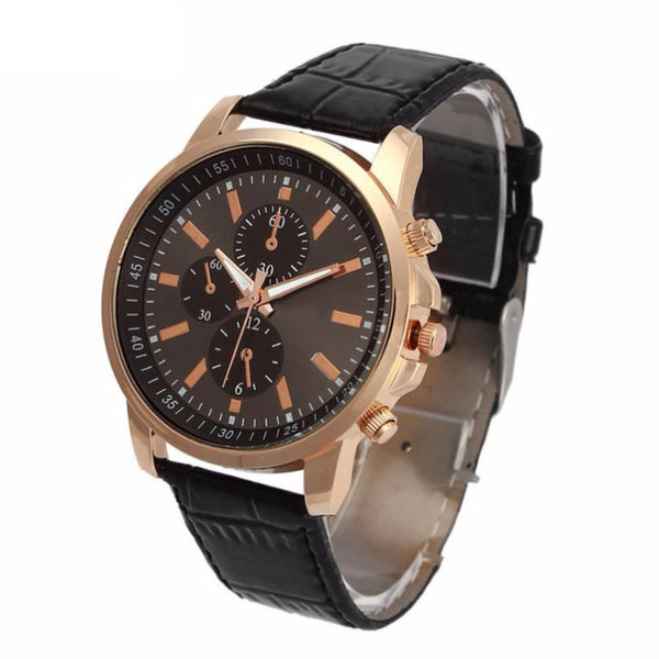 THE HAMPSHIRE - LUXURY LEATHER WATCH - Nvr2Lte2Shop.com