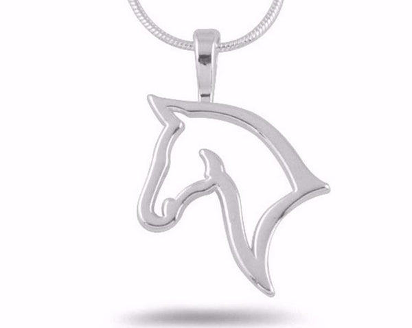Hollow Horse Metal Necklace - Nvr2Lte2Shop.com