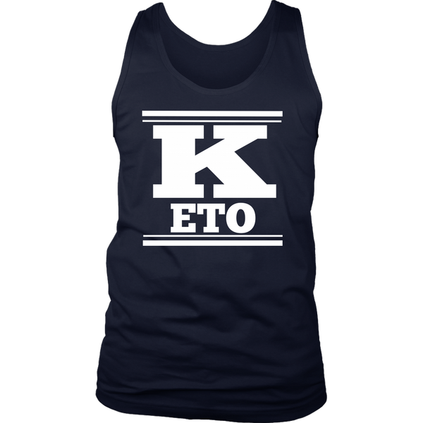 Keto Mens Tank Top - Nvr2Lte2Shop.com