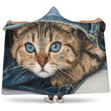 Kitten Hooded Blanket - Nvr2Lte2Shop.com