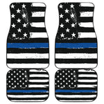 Thin Blue Line Front/Back Car Mats - Nvr2Lte2Shop.com
