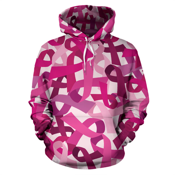 Breast Cancer Awareness All Over Hoodie - Nvr2Lte2Shop.com