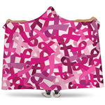 Breast Cancer Awareness Hooded Blanket - Nvr2Lte2Shop.com