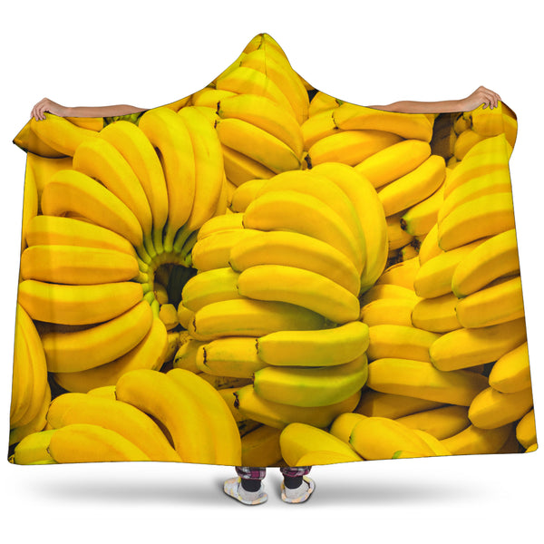 Bananas Hooded Blanket - Nvr2Lte2Shop.com