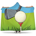 Golf Pixelated Hooded Blanket - Nvr2Lte2Shop.com