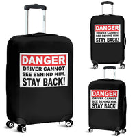 Danger Stay Back Luggage Covers - Nvr2Lte2Shop.com