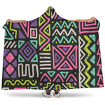 Neon Crazy Hooded Blanket