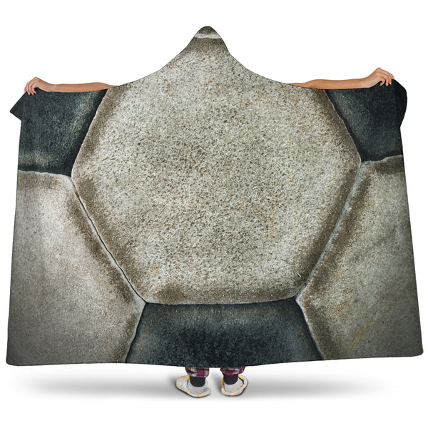 Soccer Ball Hooded Blanket - Nvr2Lte2Shop.com