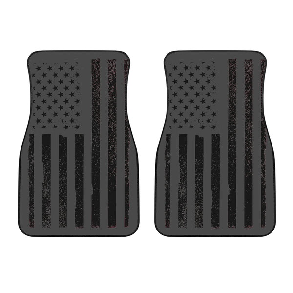 USA Flag Vert Front Car Mats - Nvr2Lte2Shop.com