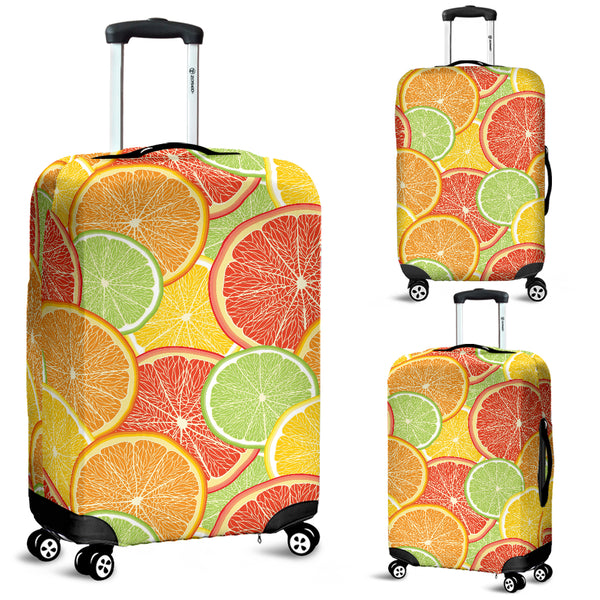 Citrus Slice Luggage Covers - Nvr2Lte2Shop.com