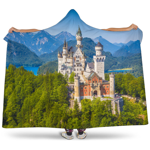 Germany Hooded Blanket - Nvr2Lte2Shop.com