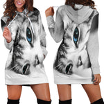 Kitten Hoodie Dress - Nvr2Lte2Shop.com