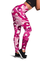 Breast Cancer Awareness Leggings - Nvr2Lte2Shop.com
