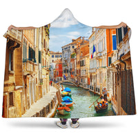 Venice Hooded Blanket