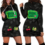 Vegan AF Hoodie Dress - Nvr2Lte2Shop.com