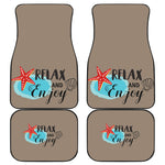 Relax and Enjoy Front/Back Car Mats - Nvr2Lte2Shop.com