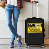 Caution Luggage Covers - Nvr2Lte2Shop.com