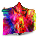 Color Explosion Hooded Blanket - Nvr2Lte2Shop.com
