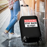 Warning 50 Feet Luggage Covers - Nvr2Lte2Shop.com