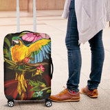 Parrot Luggage Covers - Nvr2Lte2Shop.com
