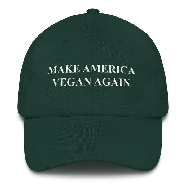 Make America Vegan Again Green Cap - Nvr2Lte2Shop.com