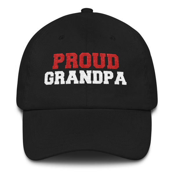 Proud Grandpa Baseball Cap - Nvr2Lte2Shop.com