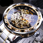 Transparent Royal Skeleton Watch