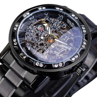 Winner Transparent Royal Skeleton Watch