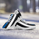 Police Thin Blue Line Sneakers - Kids - Nvr2Lte2Shop.com