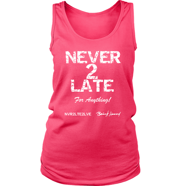 Nvr2Lte2Lve Signed Womens Tank Top - Nvr2Lte2Shop.com