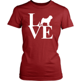 Love Pug Women's T-Shirt - Nvr2Lte2Shop.com