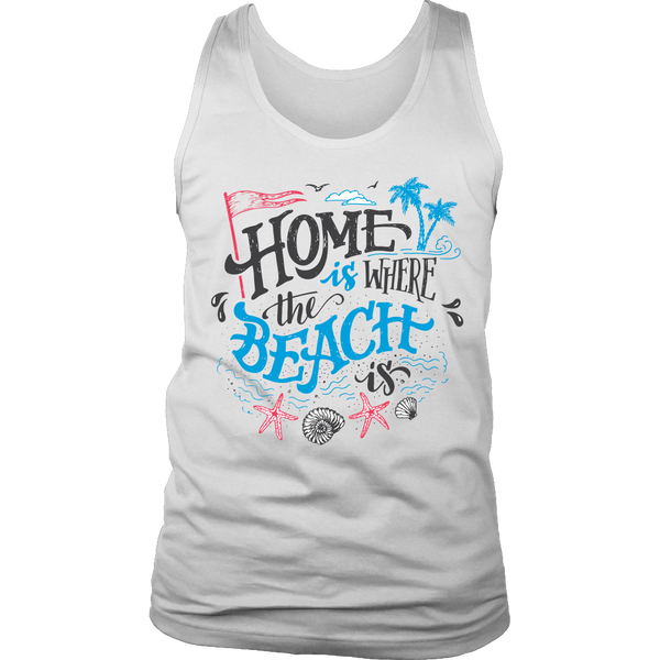 Home Beach Tank Top - Nvr2Lte2Shop.com